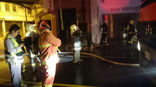 宜市深夜發生住宅火警。(記者林敬倫翻攝)
