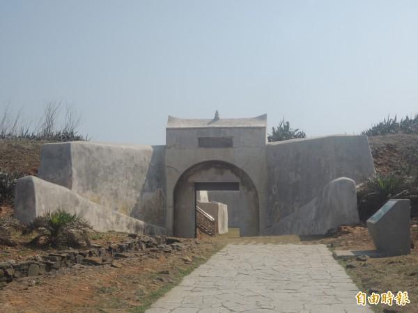 西嶼東台古堡已開放參觀,成為西嶼線旅遊重鎮。(記者劉禹慶攝)