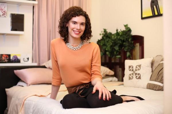 安娜塔西亞在包養網站上遇到「乾爹」後,完成了變性手術。(圖擷取自紐約郵報)