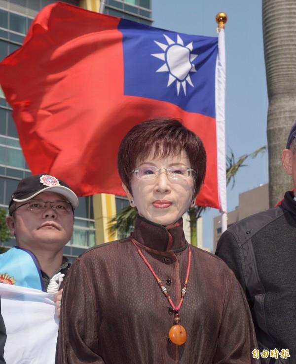 黃國昌告洪秀柱(圖),國民黨表示將正面迎戰。(資料照,記者黃耀徵攝)