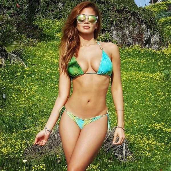 巴西演員、知名模特兒桑托。(圖擷取自Instagram)