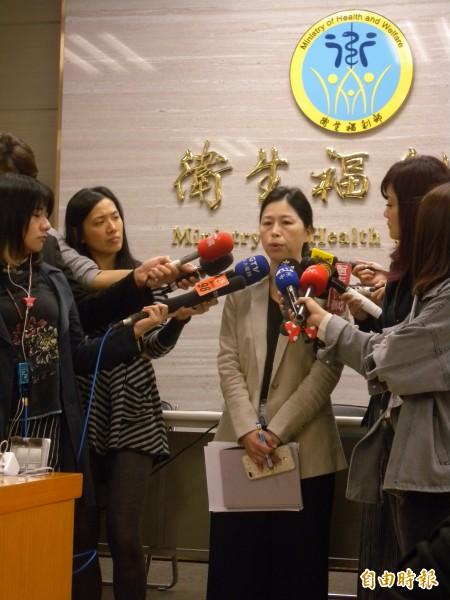 衛福部成立「少子化辦公室」,目標將生育率從1.1%提高到1.6%。(記者吳亮儀攝)