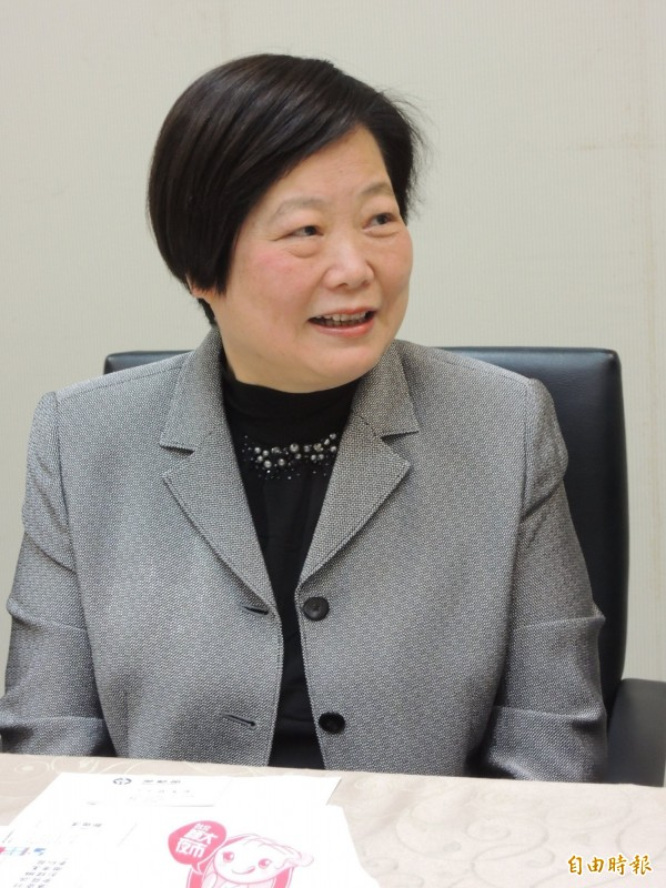 勞動部長林美珠與七大工商團體會面。(資料照,記者黃邦平攝)