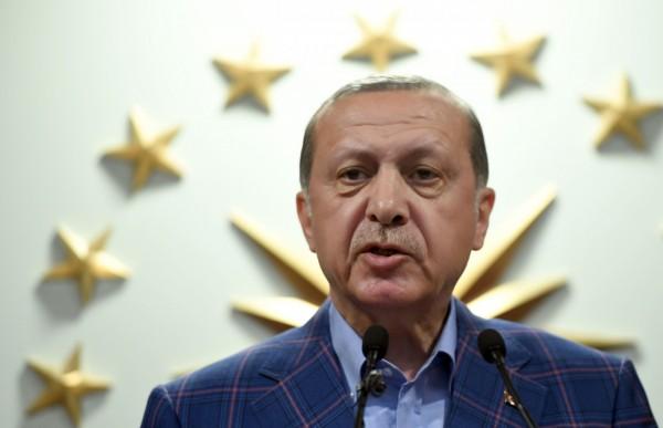 土耳其總統艾多根將可一路當到2029年。(法新社)