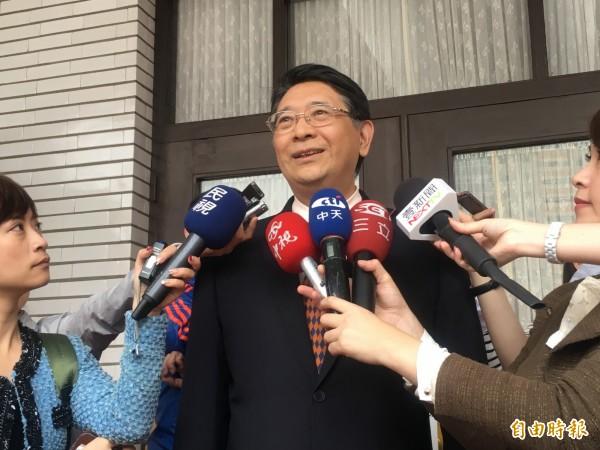 國民黨團臨時通知不來朝野協商,立法院秘書長林志嘉呼籲藍黨團再想想。(記者鄭鴻達攝)