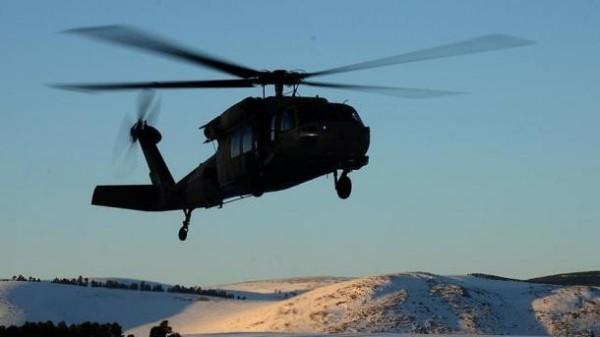 一架載有12人的警用直升機18日驚傳在土耳其東部的頓哲里省(Tunceli)墜毀,機上12人已全數罹難。圖為示意圖。(圖擷自trt.net.tr)