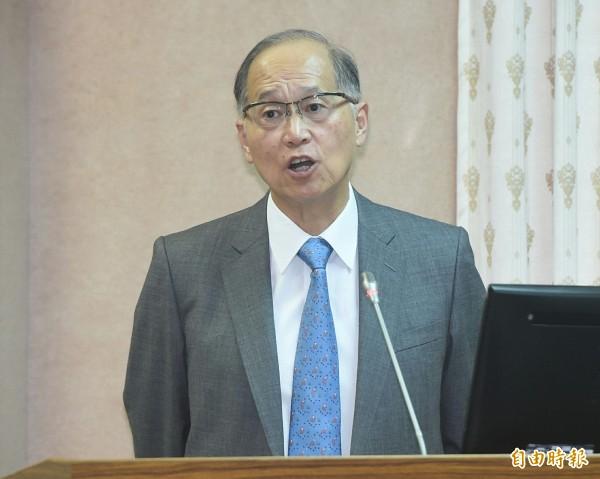 李大維今天回應,更名案已獲行政院核准,「一個月內會有揭牌儀式」,正在規劃中。(記者廖振輝攝 )
