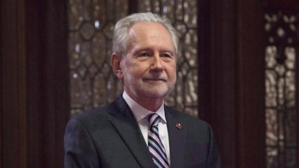 加拿大聯邦參議院政府代表哈德爾(見圖)表示,加拿大支持台灣適當參與國際論壇。(圖擷自CBC)