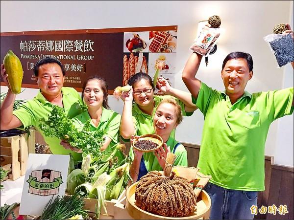農業局首次推出自然生活節,為生態交通全球盛典暖身。(記者陳文嬋攝)