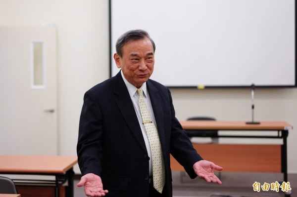 法務部政務次長陳明堂認為,目前台灣現況並不適合將毒品除罪化。(記者黃欣柏攝)