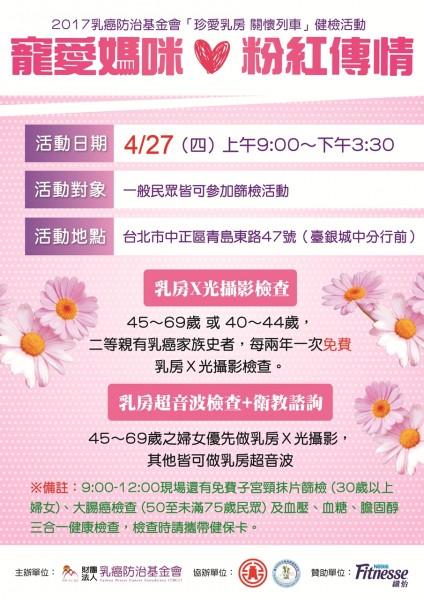 (圖擷自乳癌防治基金會)