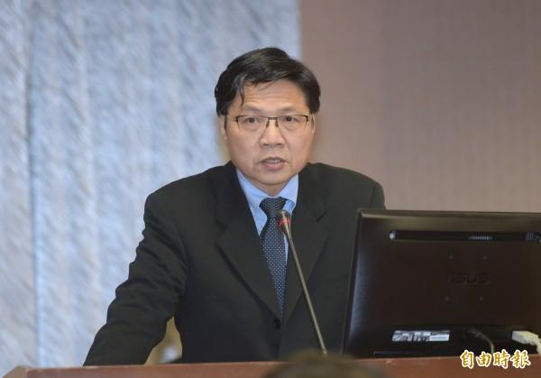 內政部長葉俊榮今天(24日)赴立院報告並備詢。(記者張嘉明攝)