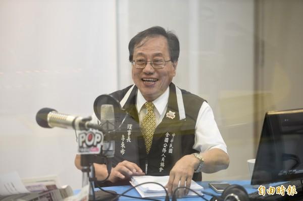 全國公務人員協會理事長李來希。(資料照,記者叢昌瑾攝)