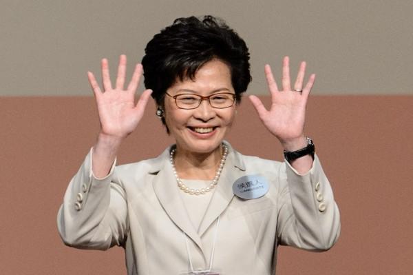 香港首位女特首林鄭月娥。(資料照,路透)