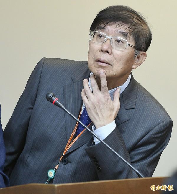 衛福部中央健康保險署署長李伯璋。(記者陳志曲攝)
