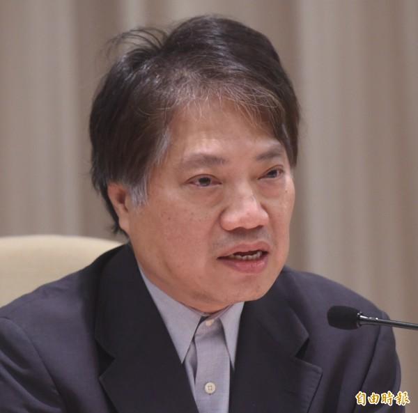 中研院近代史研究所副研究員許文堂。(資料照,記者簡榮豐攝)
