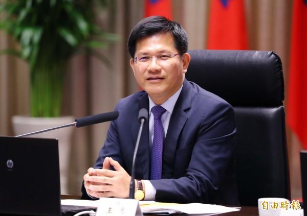 台中市長林佳龍重提石虎棲地。(資料照,記者張菁雅攝)