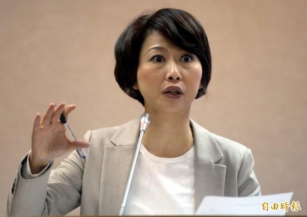 陳亭妃提出「防狼師」條款,並要求教育部在修法之前,先建立「補教師資料庫」與「狼師通報機制」。(資料照,記者林正堃攝)