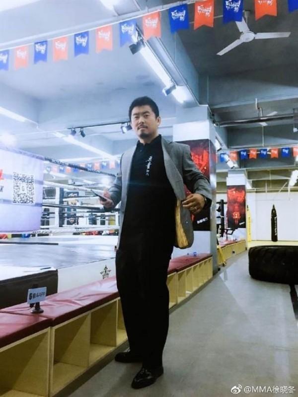 原計畫於8日來台與館長交流的徐曉冬。(翻攝自MMA徐曉冬微博)