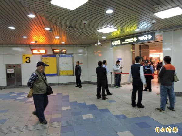 捷運亞東醫院站。(資料照,記者何玉華攝)