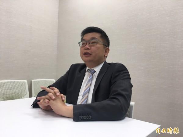立法院副院長蔡其昌認為,中方打壓我參與WHA,只會引起台灣人不滿。(記者鄭鴻達攝)