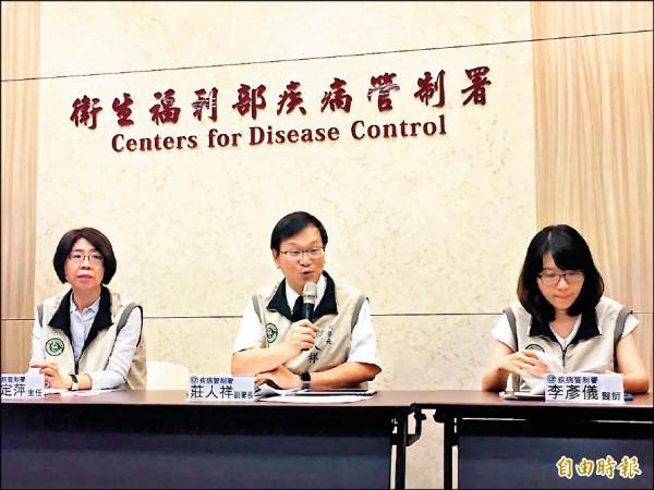 疾病管制署昨天公布三年來第一例愛滋寶寶個案。(記者吳亮儀攝)