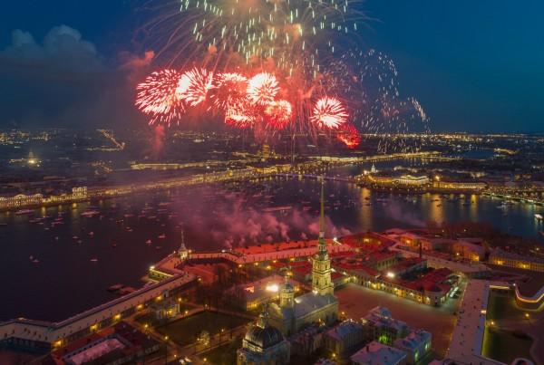 慶祝二戰勝利72週年,俄羅斯舉行一系列慶祝活動。(美聯社)