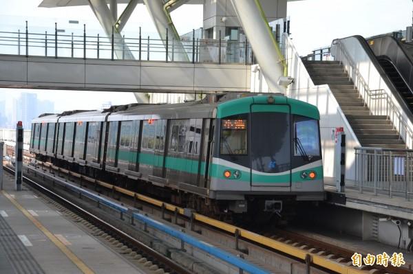 高雄捷運黃線獲中央「前瞻基礎建設計畫」逾千億預算支持,預計採地下化設計。(資料照,記者侯承旭攝)