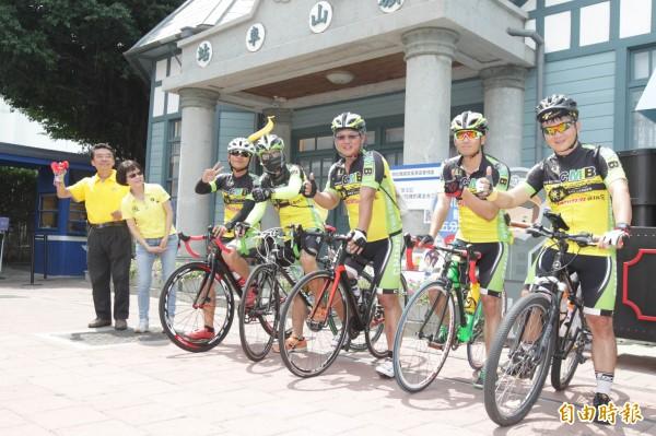 西管處邀單車客體驗旗山至玉井的台3線觀光魅力。(記者黃佳琳攝)