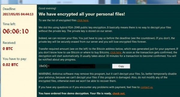 最近台灣有一名網友,中了勒索病毒,還和駭客談條件殺價。(圖擷取自Mobile01討論區)