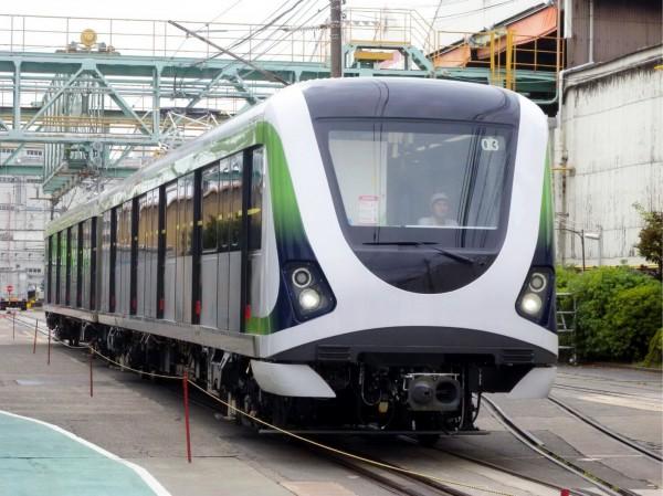 台中捷運綠線電聯車預計今年底全數交車。(台中市政府提供)