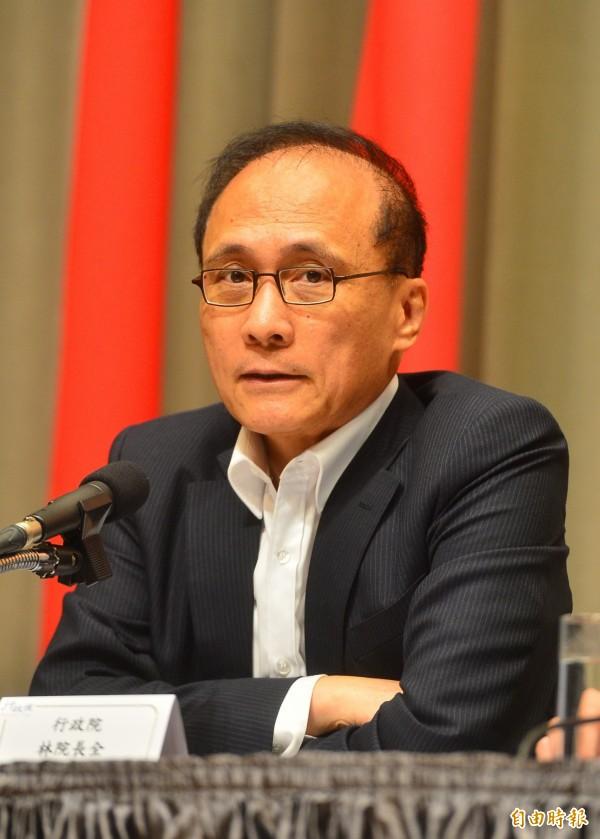行政院長林全網路討論聲量最高。(資料照,記者王藝菘攝)