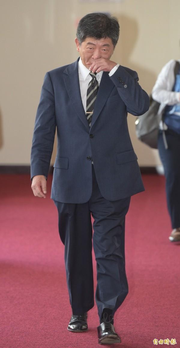 針對菸害新制喊卡,衛福部長陳時中1強調,有不同意見溝通中。(記者張嘉明攝)