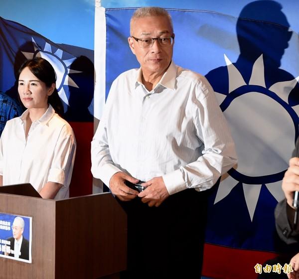 國民黨準主席吳敦義。(資料照,記者簡榮豐攝)