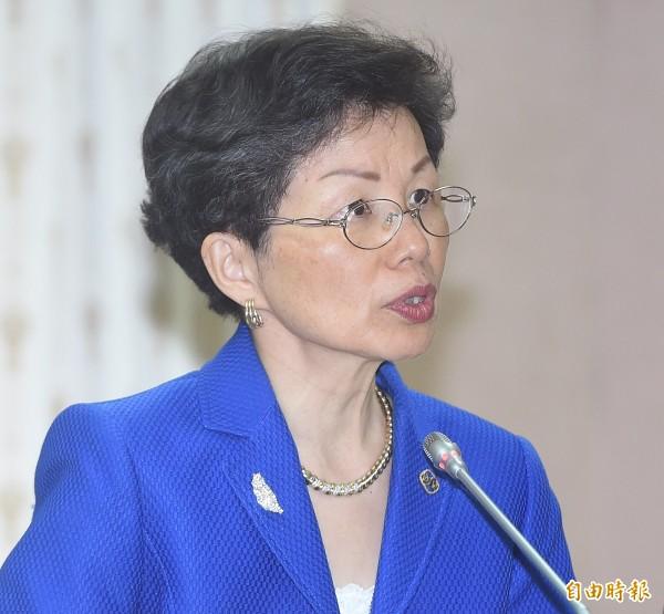 中國大陸以台灣不承認一中內涵的九二共識,阻擋台灣出席世界衛生大會(WHA),陸委會主委張小月22日重申,從來就不能接受大陸提出所謂的一中原則,她強調,「我們參加WHA是從醫療衛生角度出發,跟政治沒有任何關係。」(記者廖振輝攝)
