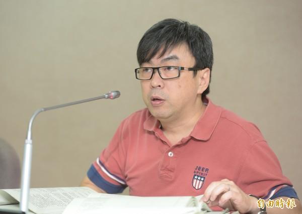 民進黨立委段宜康。(資料照,記者張嘉明攝)