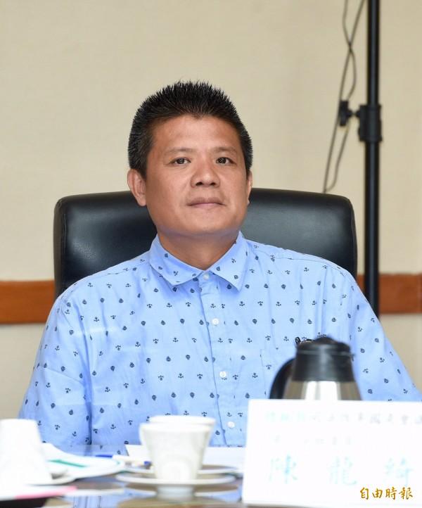 司改國是會議第一組增開會議23日於司法院舉行。冤獄平反者陳龍綺出席會議。(記者羅沛德攝)