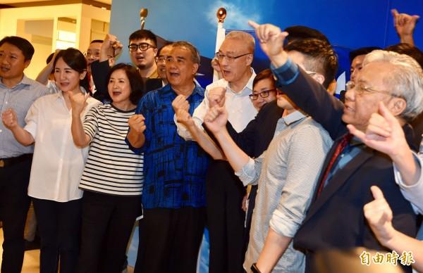 吳敦義當選國民黨主席後強調,2018年選舉應提早布局,重中之重是雙北,全國有可能、有潛力參選者,幾乎都在他腦海中。(資料照,記者簡榮豐攝)