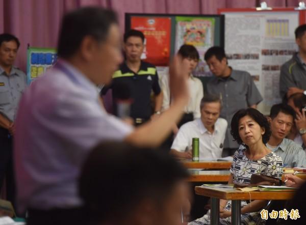 週刊報導,柯文哲問妻子陳佩琪「家裡有沒有2000萬元?」當下她氣到一度嗆說,乾脆離婚好了!(資料照,記者簡榮豐攝)