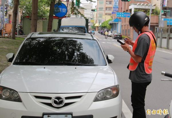 員林市成為彰化縣內第3個實施停車收費地區。(記者陳冠備攝)