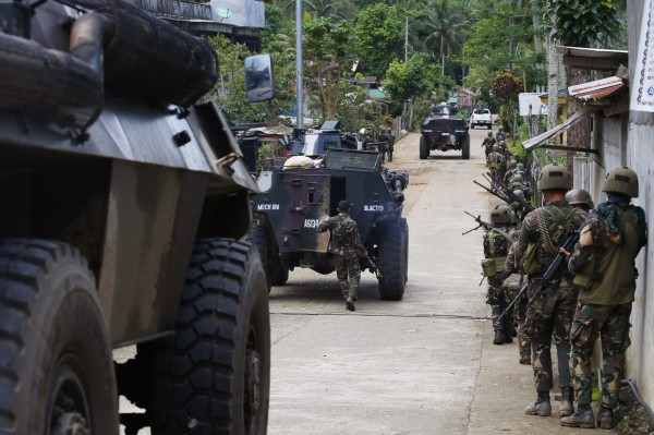 政府軍昨(29)日表示已收復馬拉威。(美聯社)