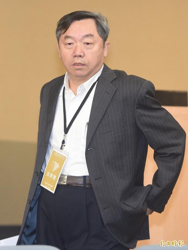 國民黨大掌櫃、行管會主委邱大展突請辭。(資料照,記者廖振輝攝)