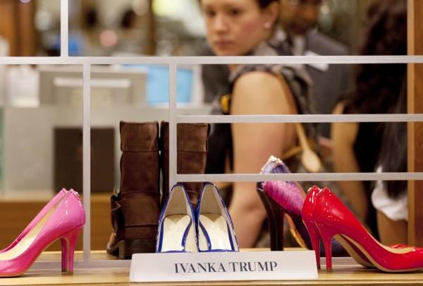 伊凡卡川普品牌位於中國的代工廠,遭爆有臥底被逮、失聯。(美聯社)