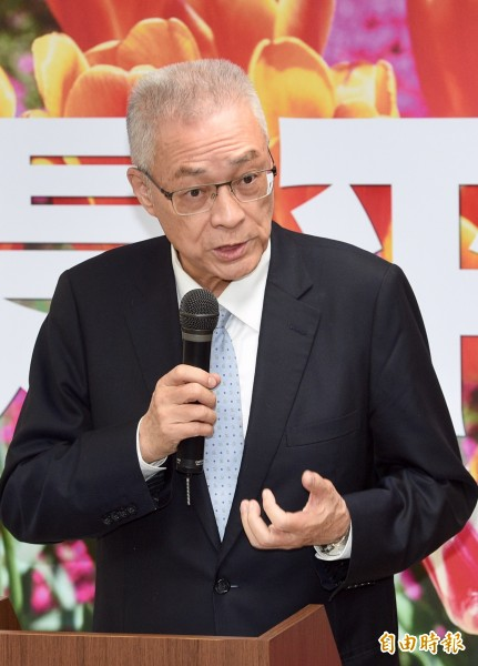 國民黨主席當選人吳敦義。(資料照,記者羅沛德攝)