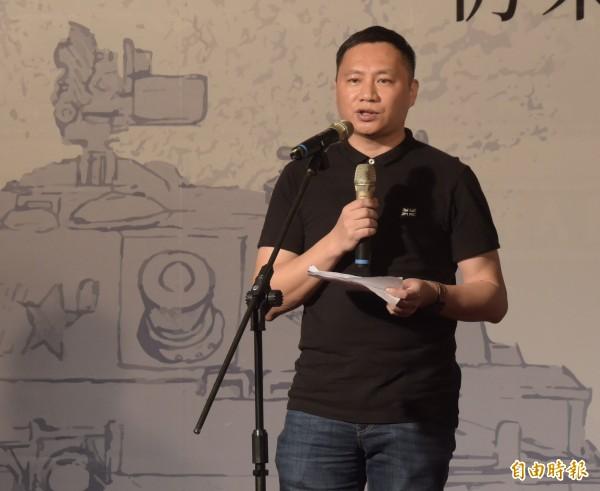 王丹說,他很清楚中國共產黨是一個看實力的政黨,「台灣越勇敢它越不敢打你,因為成本太高了」。(記者黃耀徵攝)