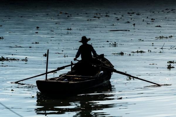 中國地表水汙染嚴重。(歐新社)