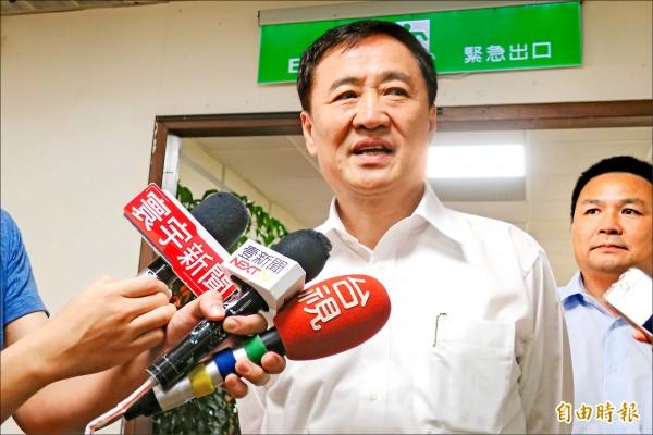北農公司開股東大會官股過半,內定董事長陳景峻人事案卻卡關。 (記者郭安家攝)
