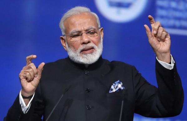 印度政府在採購中採取「印度優先」政策。圖為印度總理莫迪。(資料照,路透)