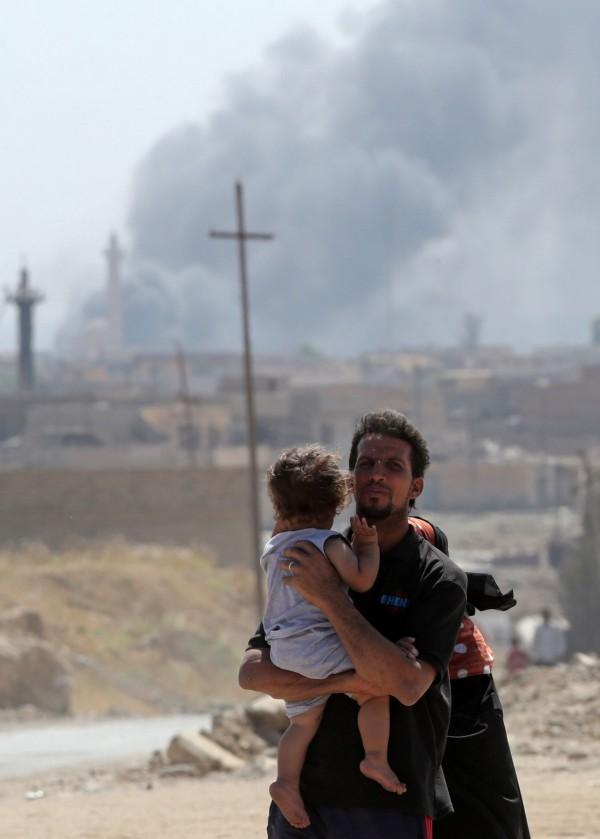 聯合國人權辦公室指出,IS屠殺平民的情形有變本加厲的趨勢。(法新社)
