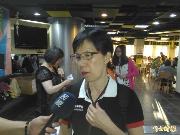 台灣原聲教育協會執行理事、退休教師廖阿貫直言得知齊柏林導演墜機身亡,感到shock!震驚、不敢相信。(記者王俊忠攝)
